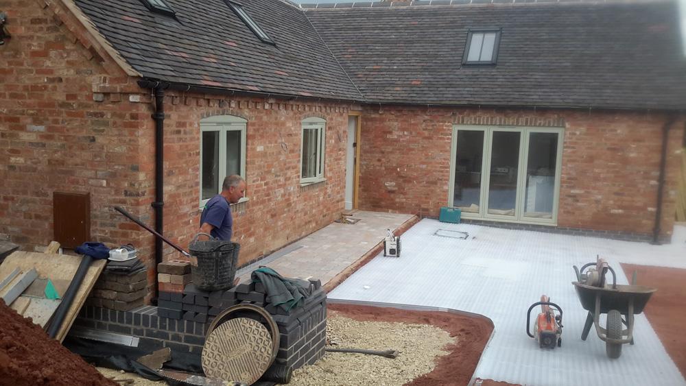 Three new build barns